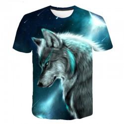 Tee Shirt Loup Homme